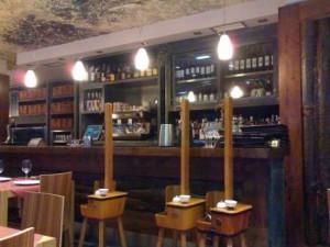 Interior Restaurante El Trebole